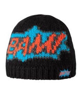 Barts Bam Pow Beanie Zwart