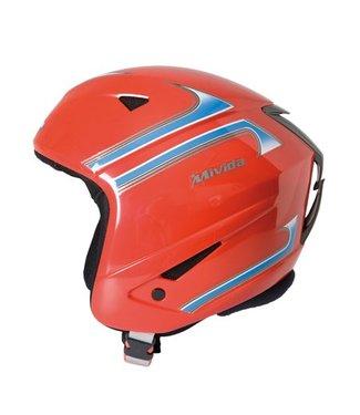 Mivida Casco de esquí Galaxy rojo