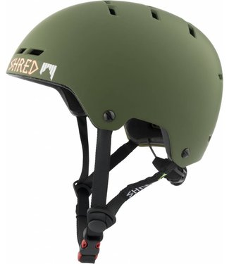 SHRED Bumper Noshock Light Woodland - Military Groen