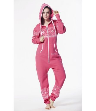 Onesie Pink Print Jumpsuit