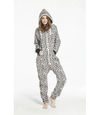 Onesie Overall Leopardenmuster