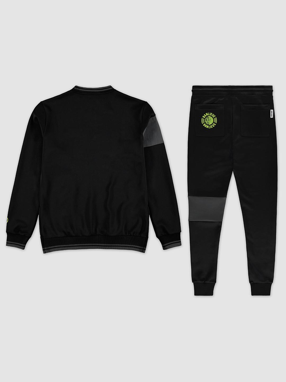 Band Tracksuit Black/Lime