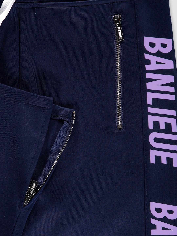 Full-zip Tracksuit Navy/Purple