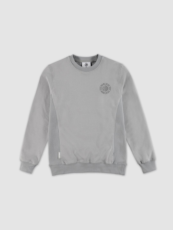 Tonal Sweater Grey