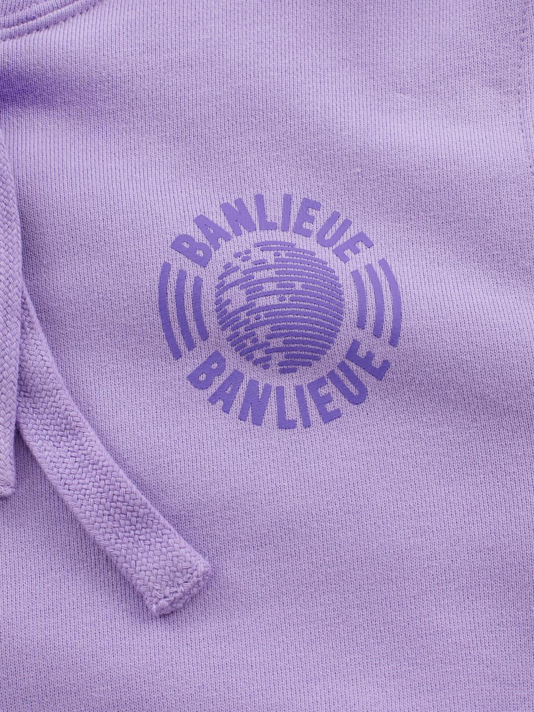 Tonal Hoodie Purple