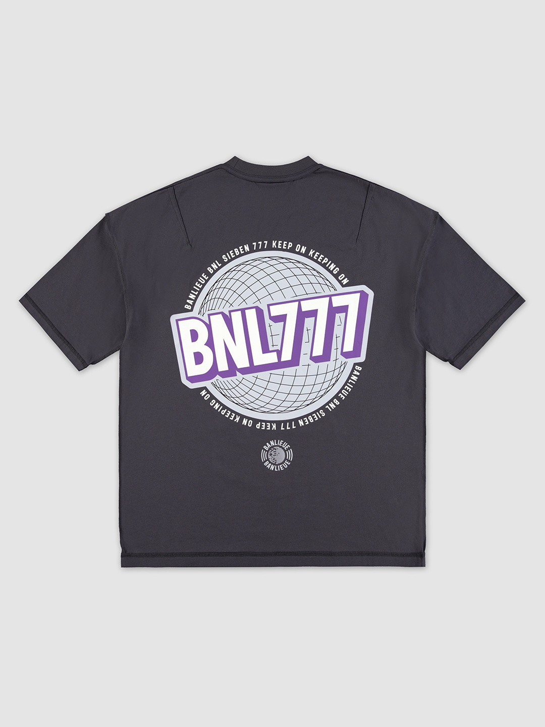 BNL777 T-shirt Vintage Black