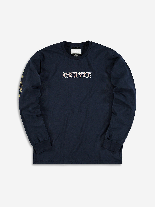 Banlieue x Cruyff Longsleeve Navy