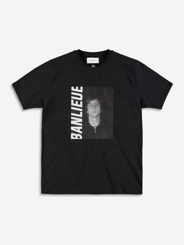 T-SHIRT BANLIEUE X CRUYFF NOIR