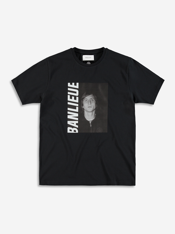 Banlieue x Cruyff T-shirt Black
