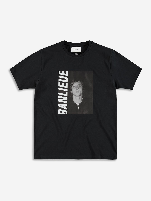 BANLIEUE X CRUYFF T-SHIRT NOIR