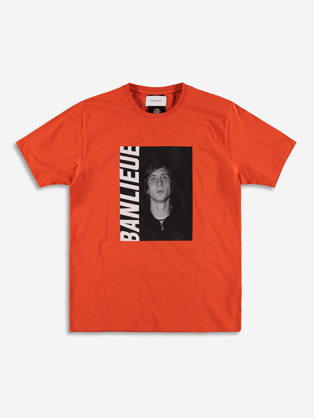 Banlieue x Cruyff T-shirt Orange