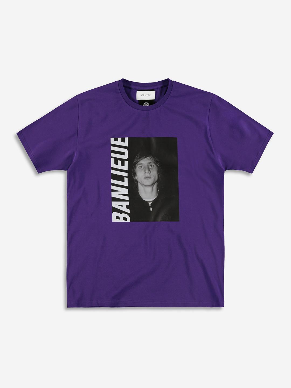 BANLIEUE X CRUYFF T-SHIRT VIOLET
