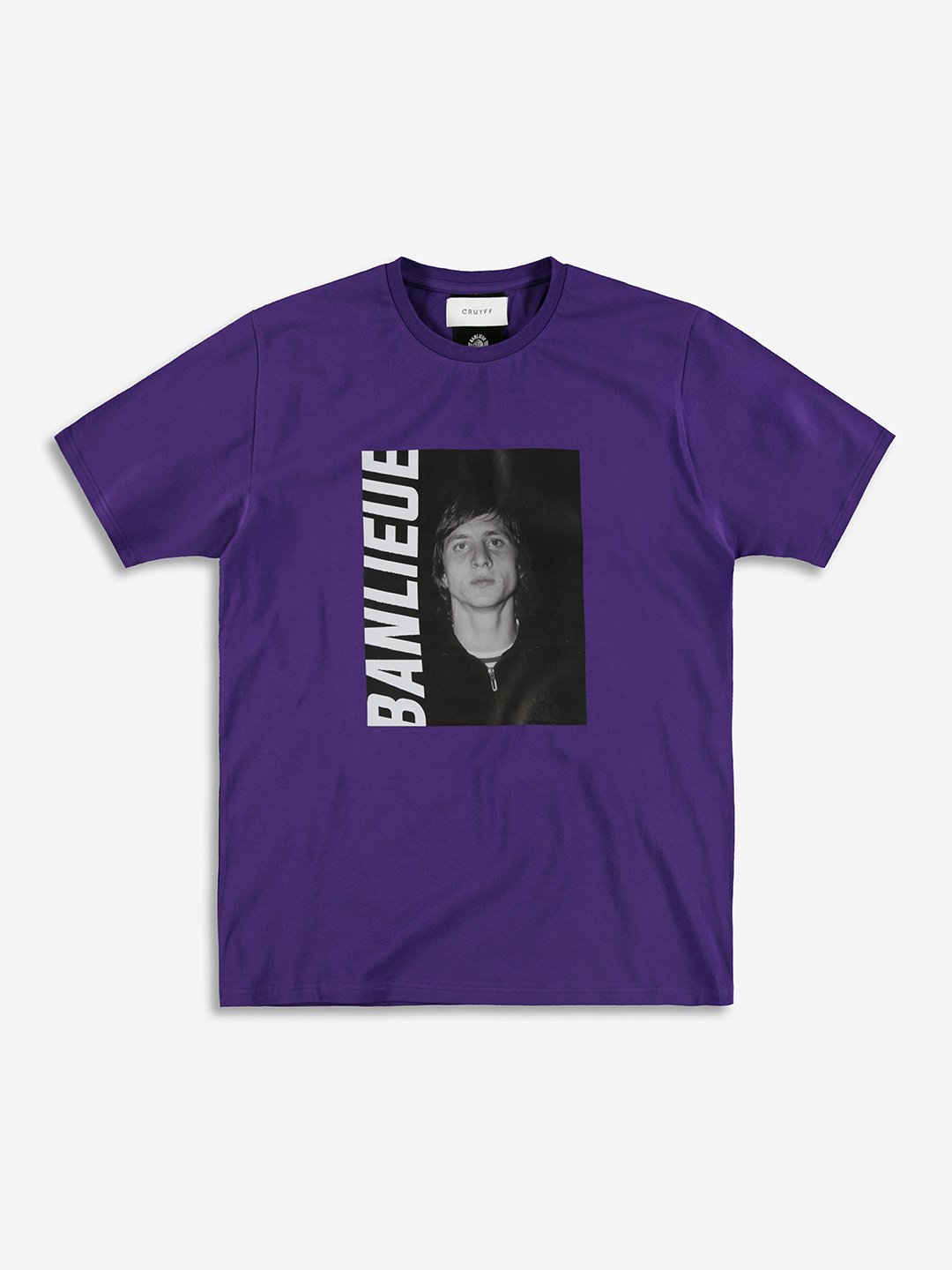 BANLIEUE X CRUYFF T-SHIRT PURPLE