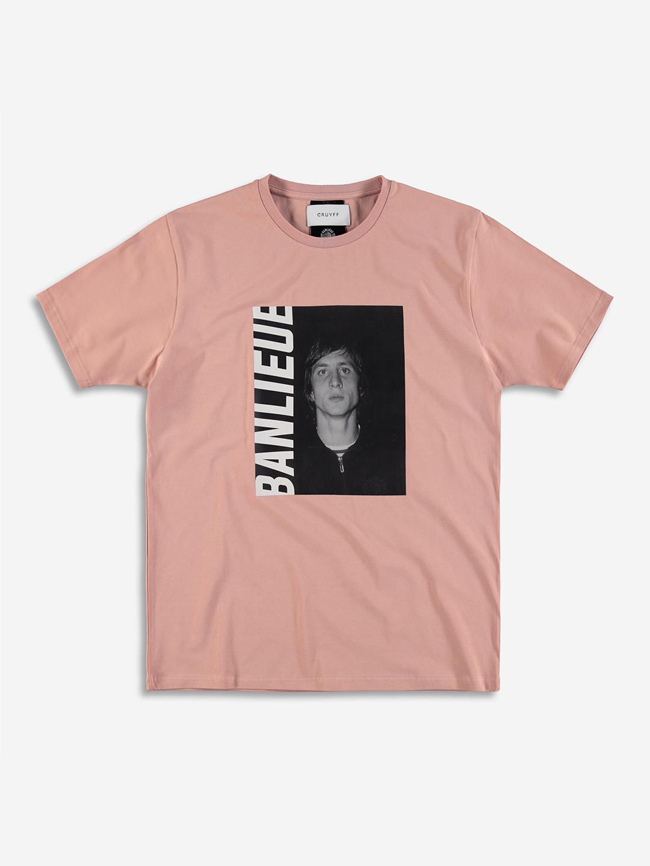 Banlieue x Cruyff T-shirt Rose