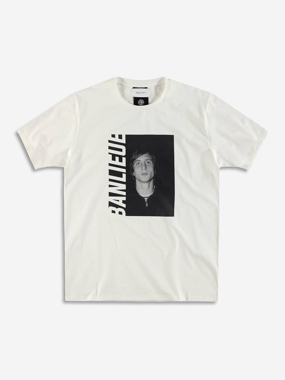 BANLIEUE X CRUYFF T-SHIRT WHITE