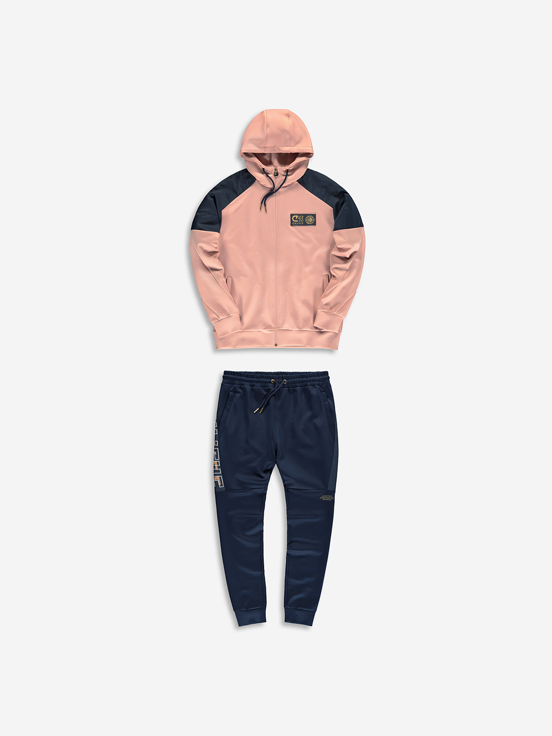 Banlieue x Cruyff tracksuit Navy