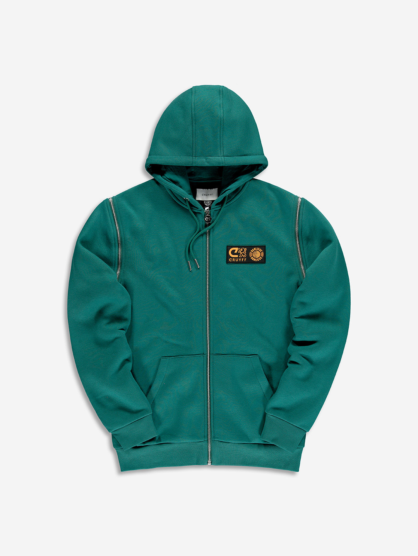 Banlieue x Cruyff zipper vest Emerald