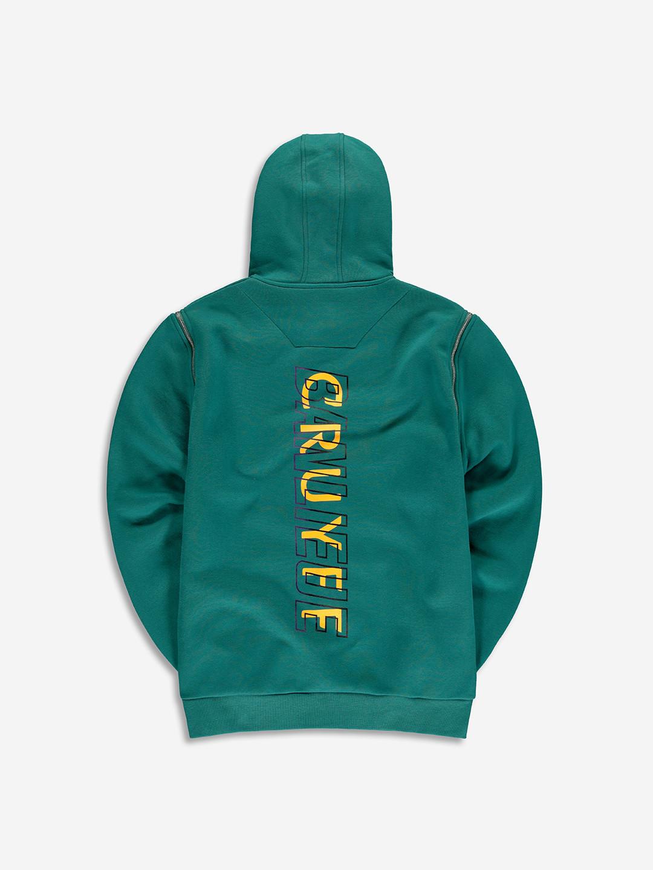 GILET ZIPPE BANLIEUE X CRUYFF EMERAUDE