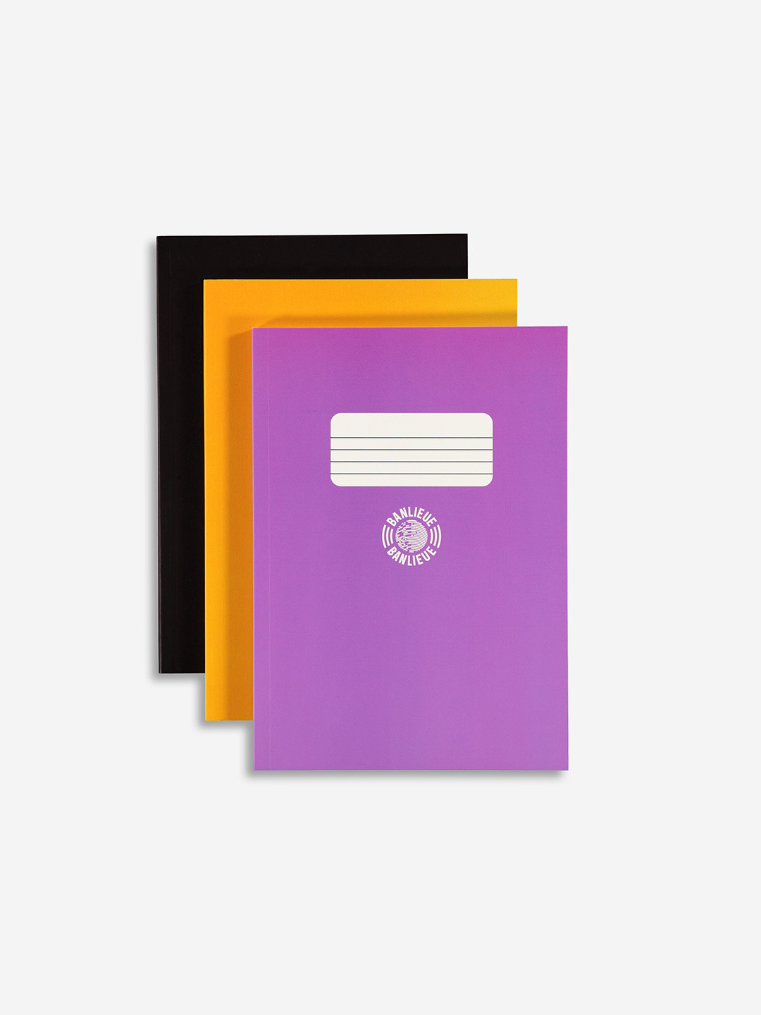 3-pack Notebooks