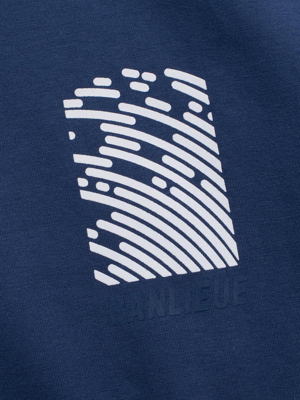 Fingerprint T-shirt Navy
