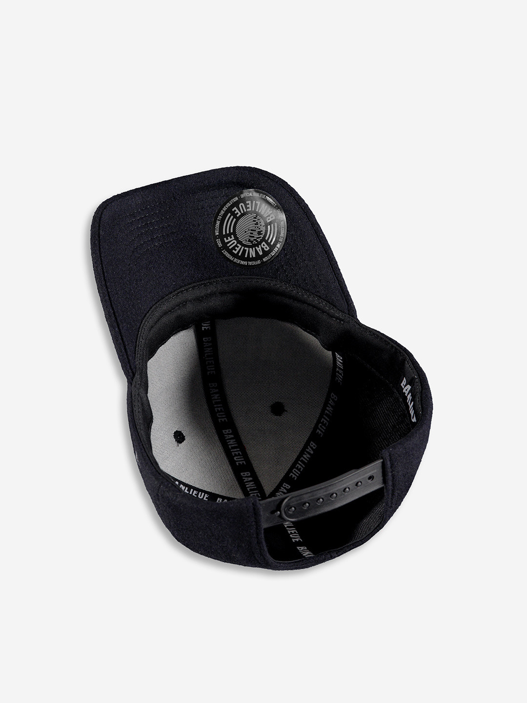 WOOL CHAMPION CAP BLACK