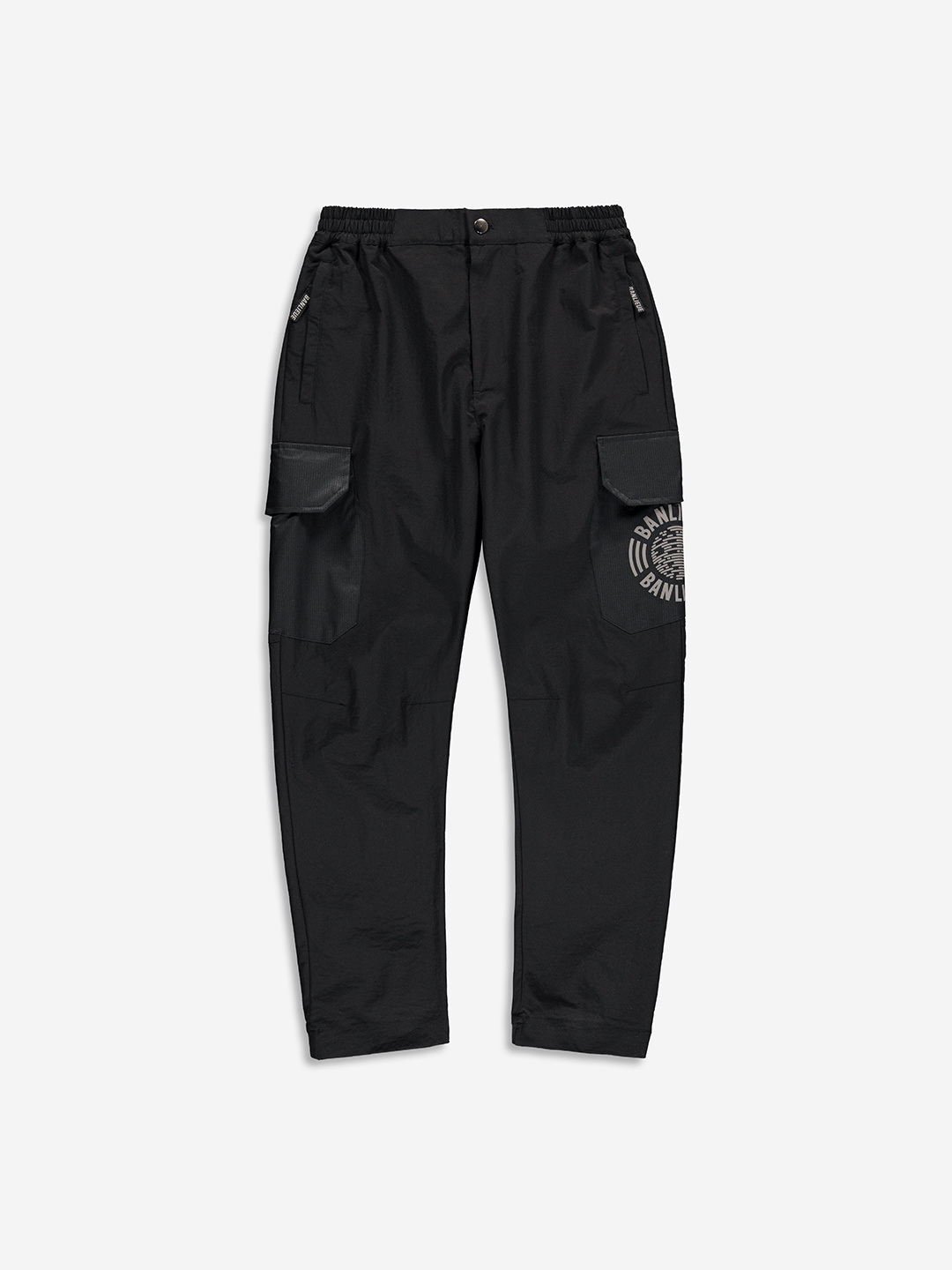 RIPSTOP CARGO PANTS BLACK