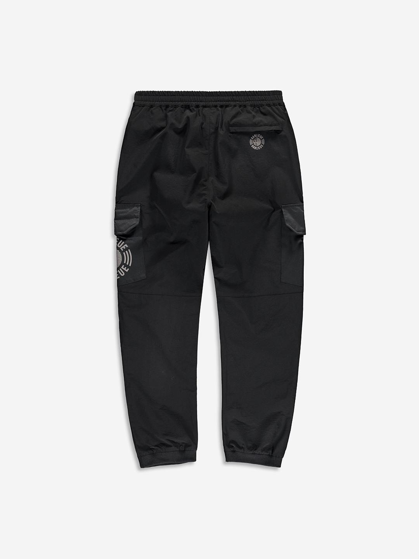 RIPSTOP CARGO PANTS BLACK