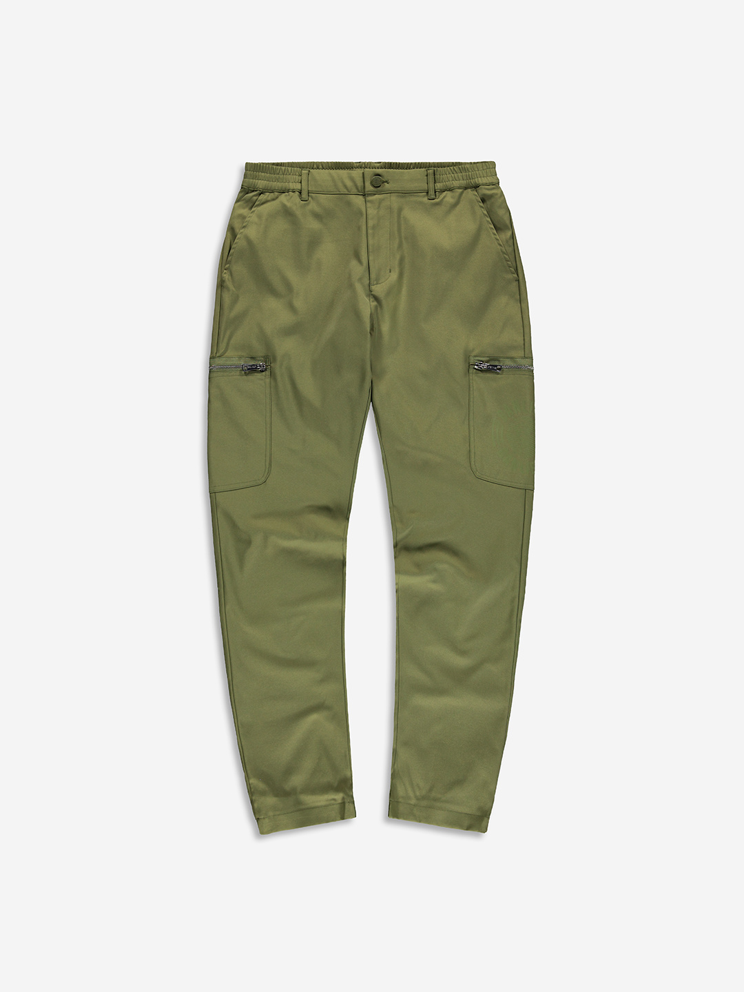 TWILL CARGO PANTS OLIVE