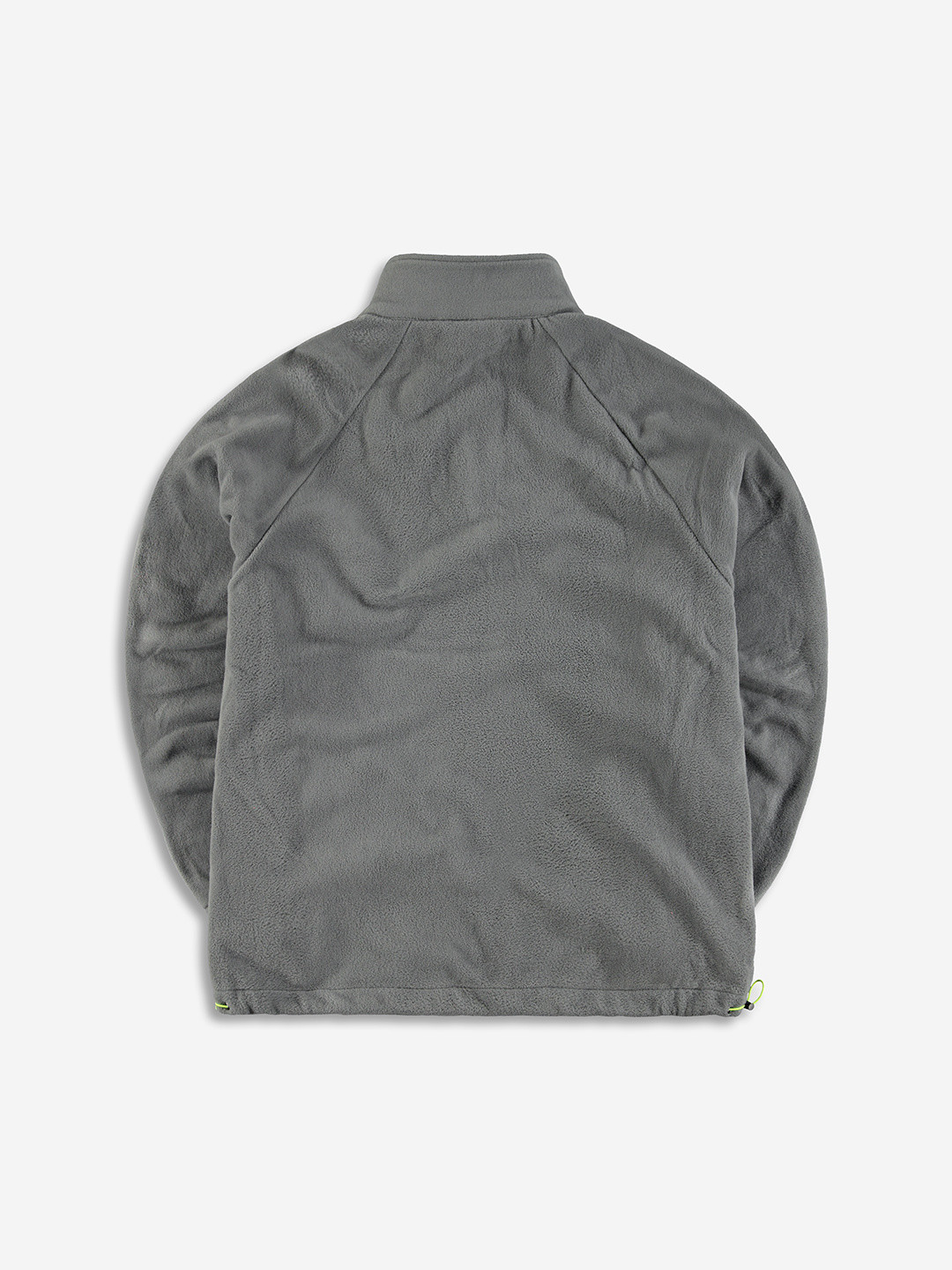 COLLEGE FLEECE HALF ZIP GREY