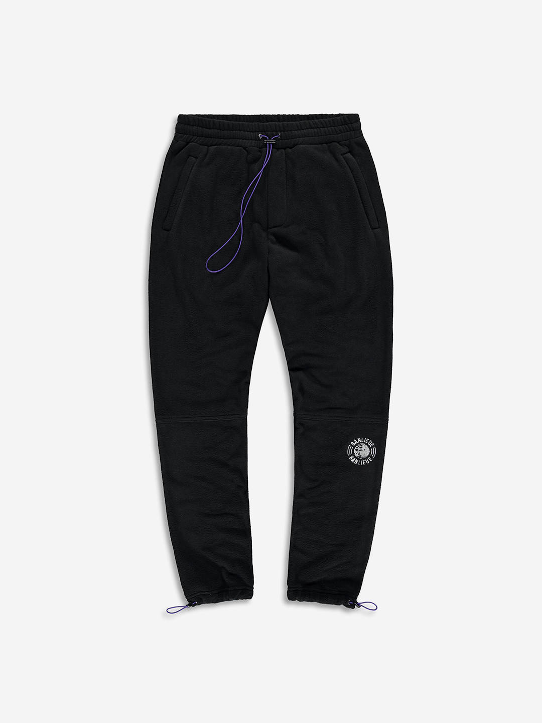 COLLEGE FLEECE PANTS BLACK