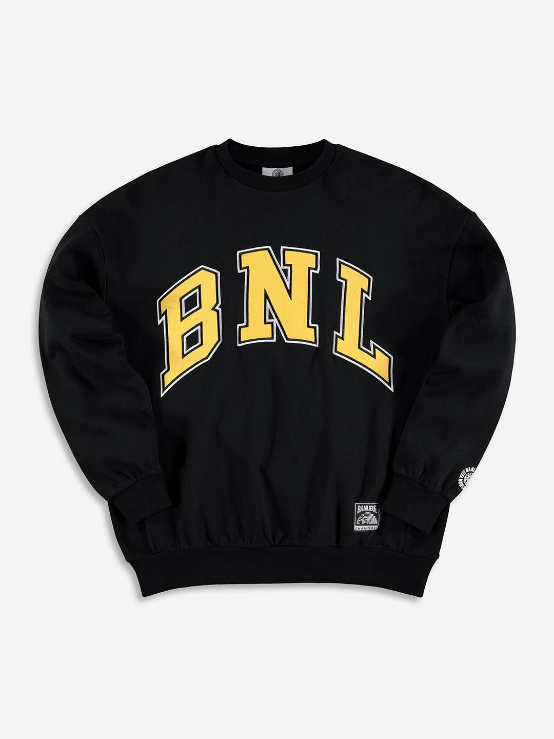 COLLEGE SWEATER BLACK