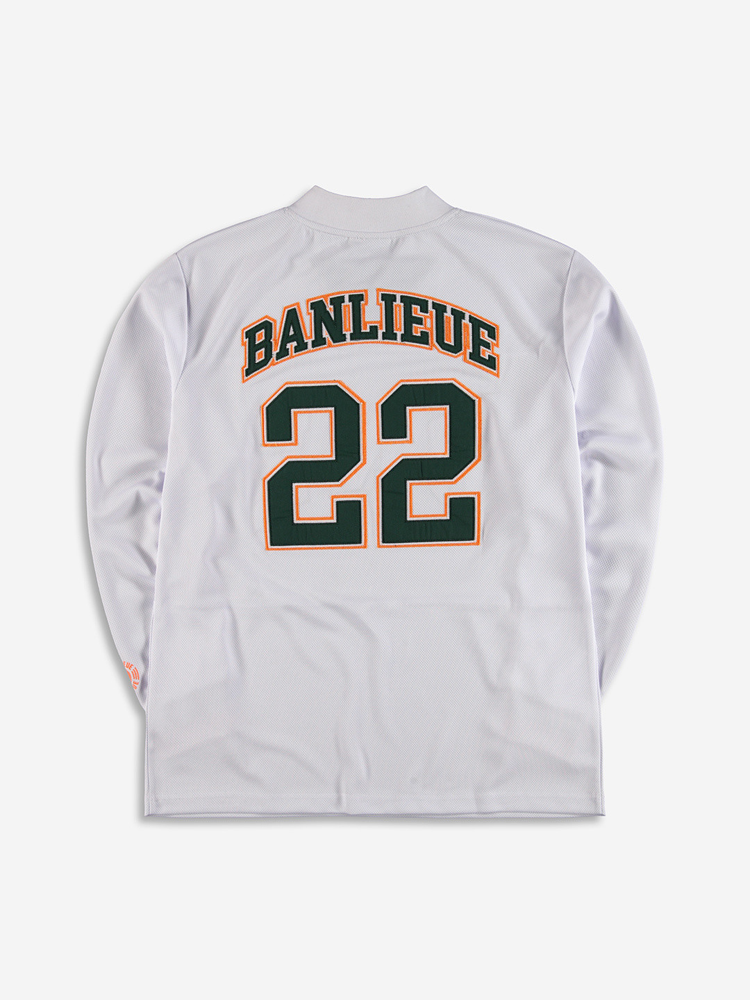COLLEGE HOCKEY JERSEY WHITE