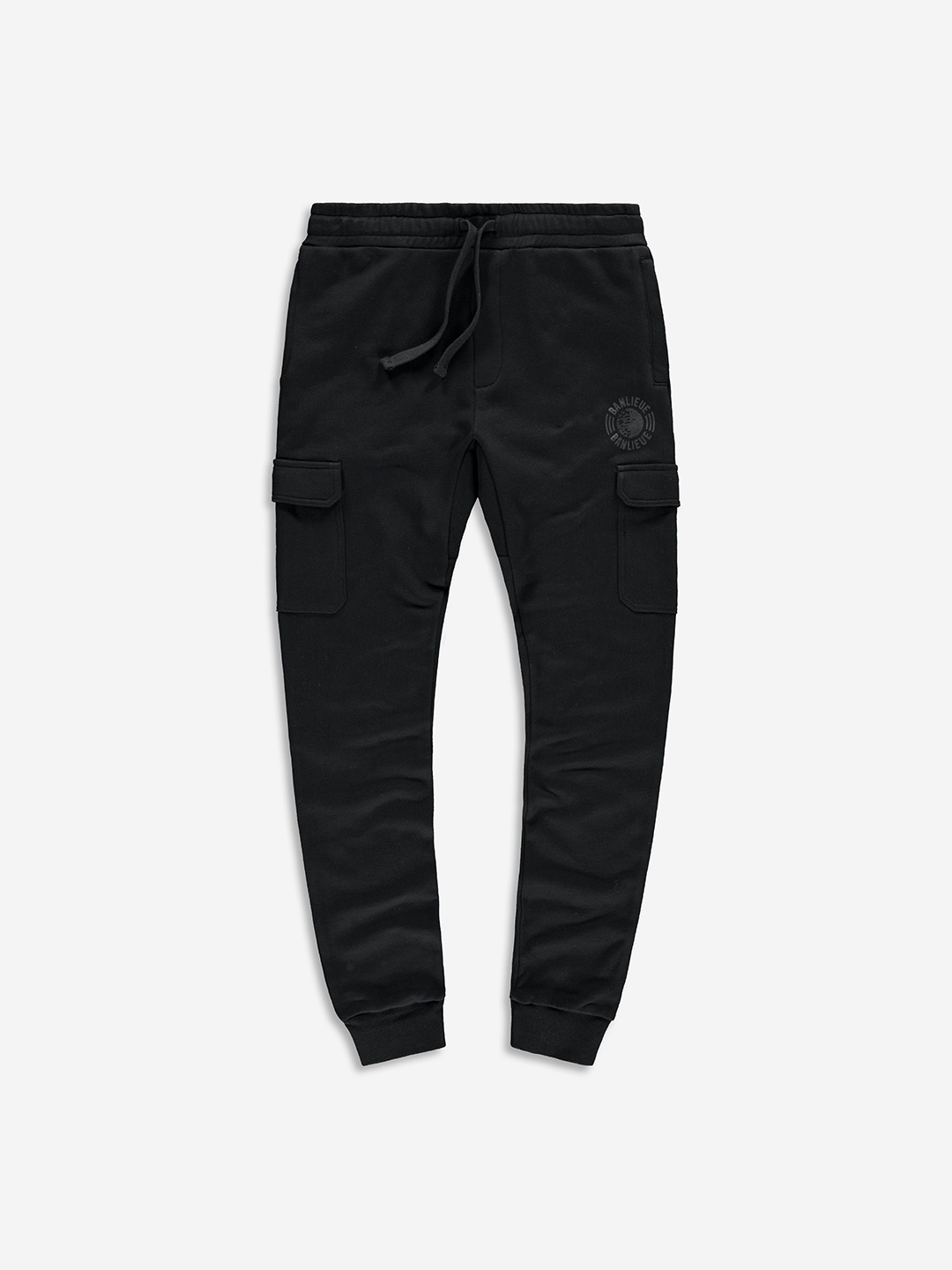 TONAL SWEATPANTS BLACK