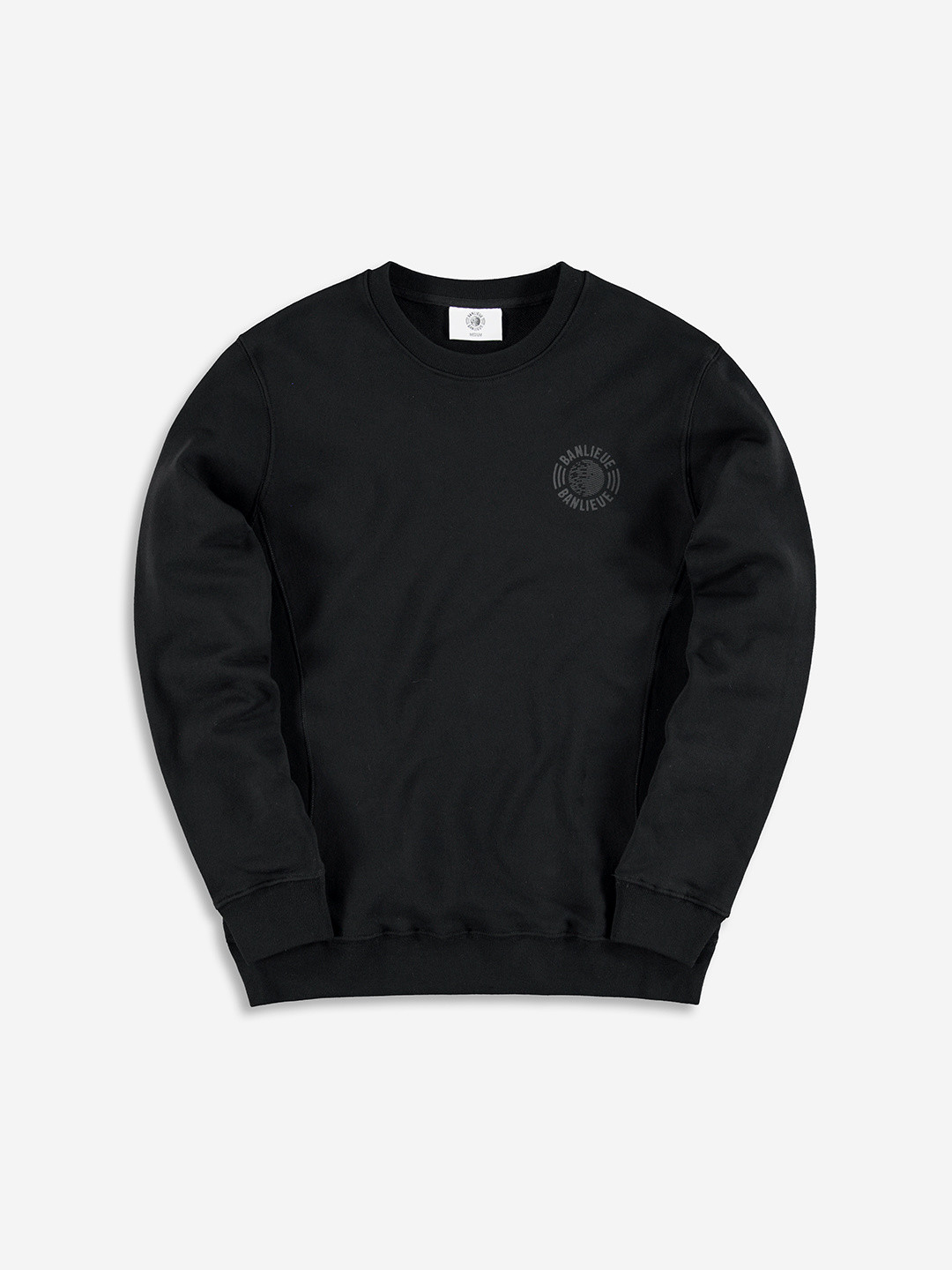 TONAL SWEATER BLACK