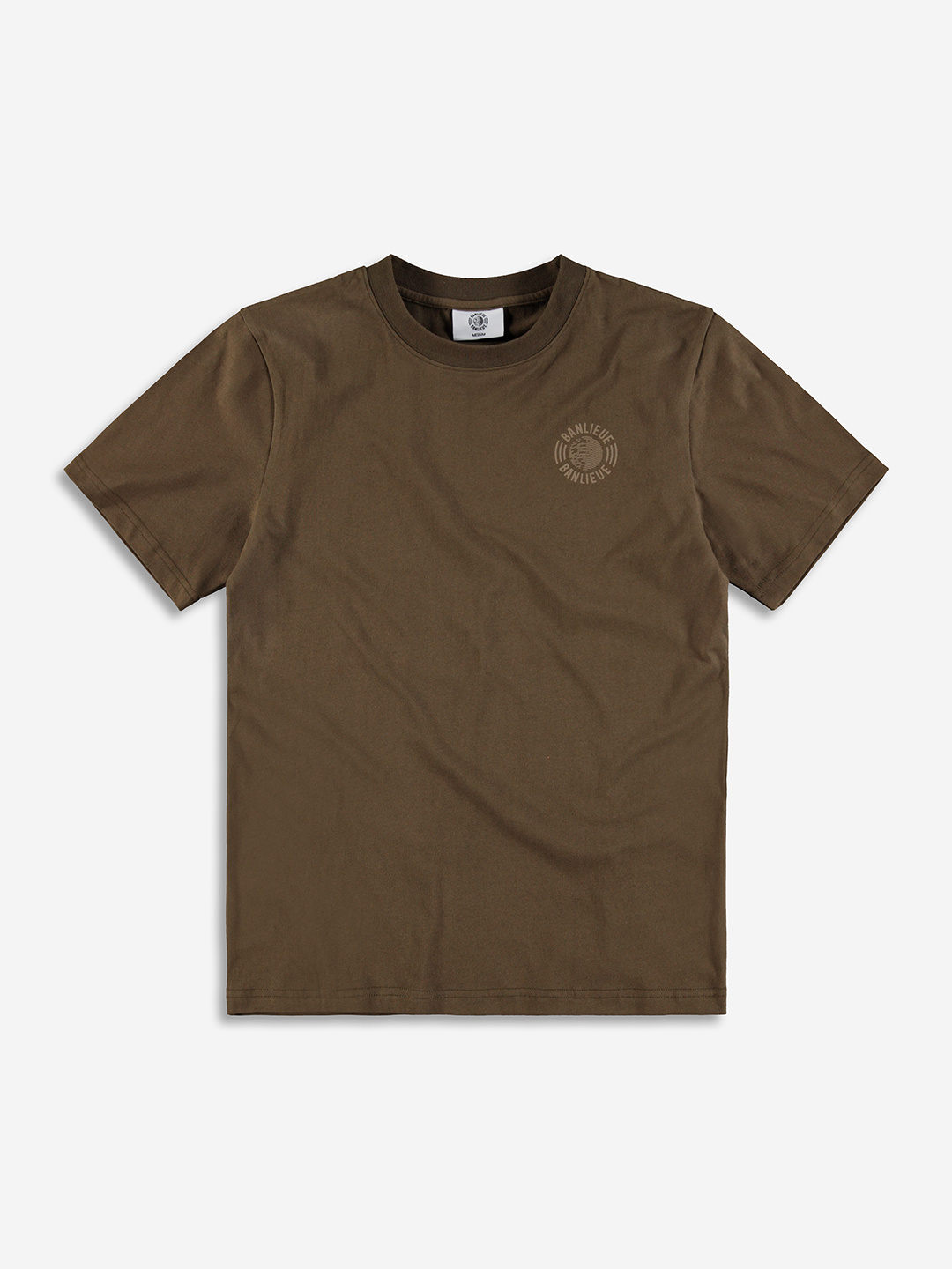 TONAL T-SHIRT MARRON
