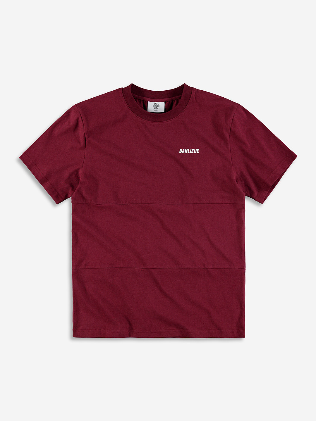 TXT T-SHIRT BURGUNDY