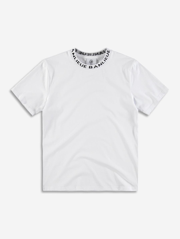 RAYMOND COLLAR T-SHIRT WHITE