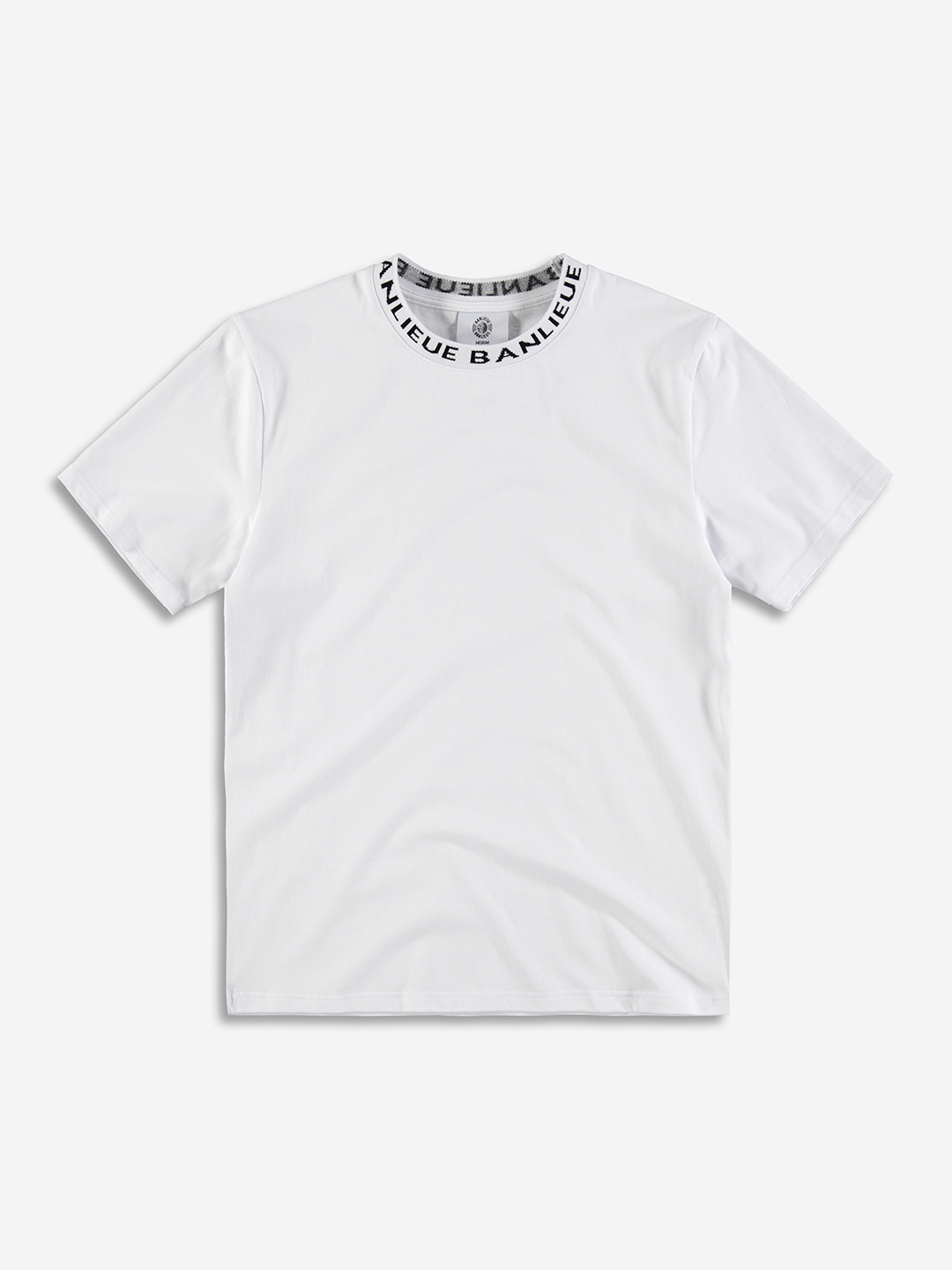 RAYMOND COLLAR T-SHIRT WHITE