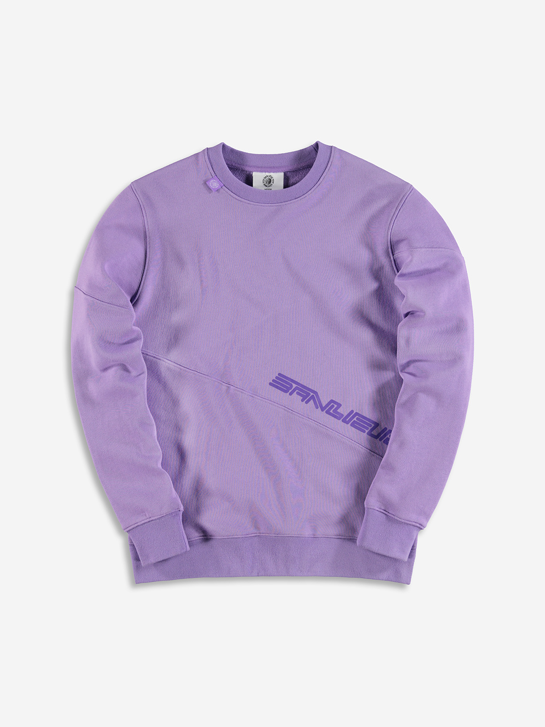 BNL ESSENTIAL SWEATER PURPLE