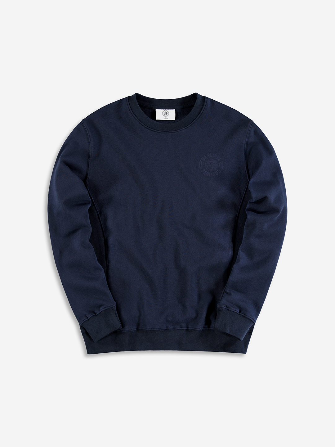 TONAL SWEATER NAVY