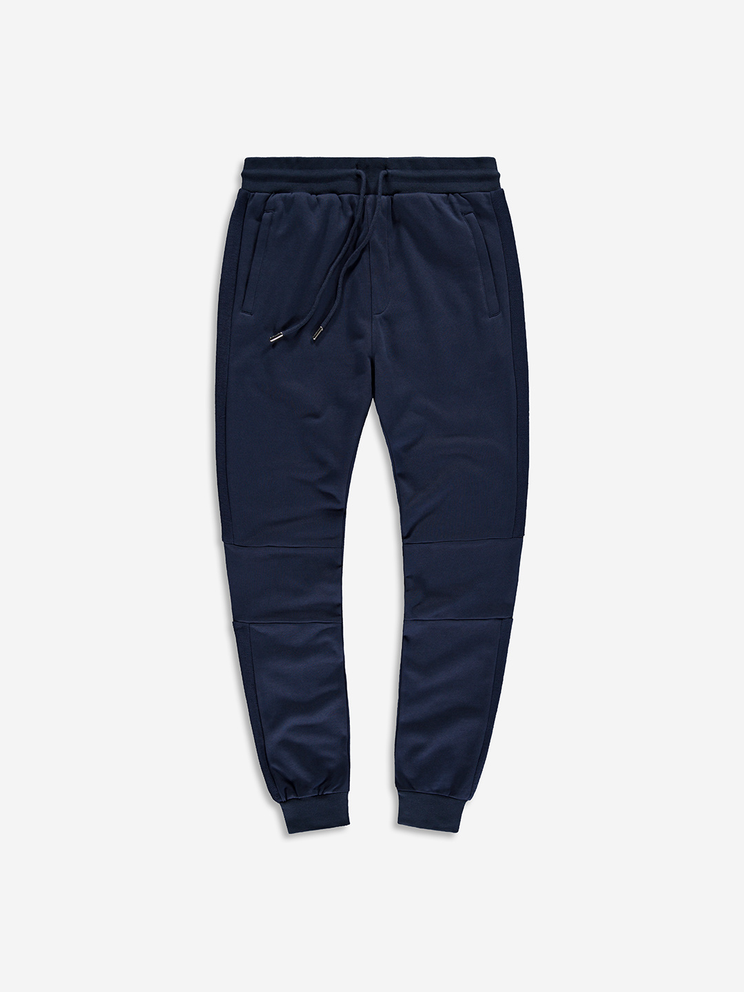 SPLIT FABRIC SWEATPANTS NAVY