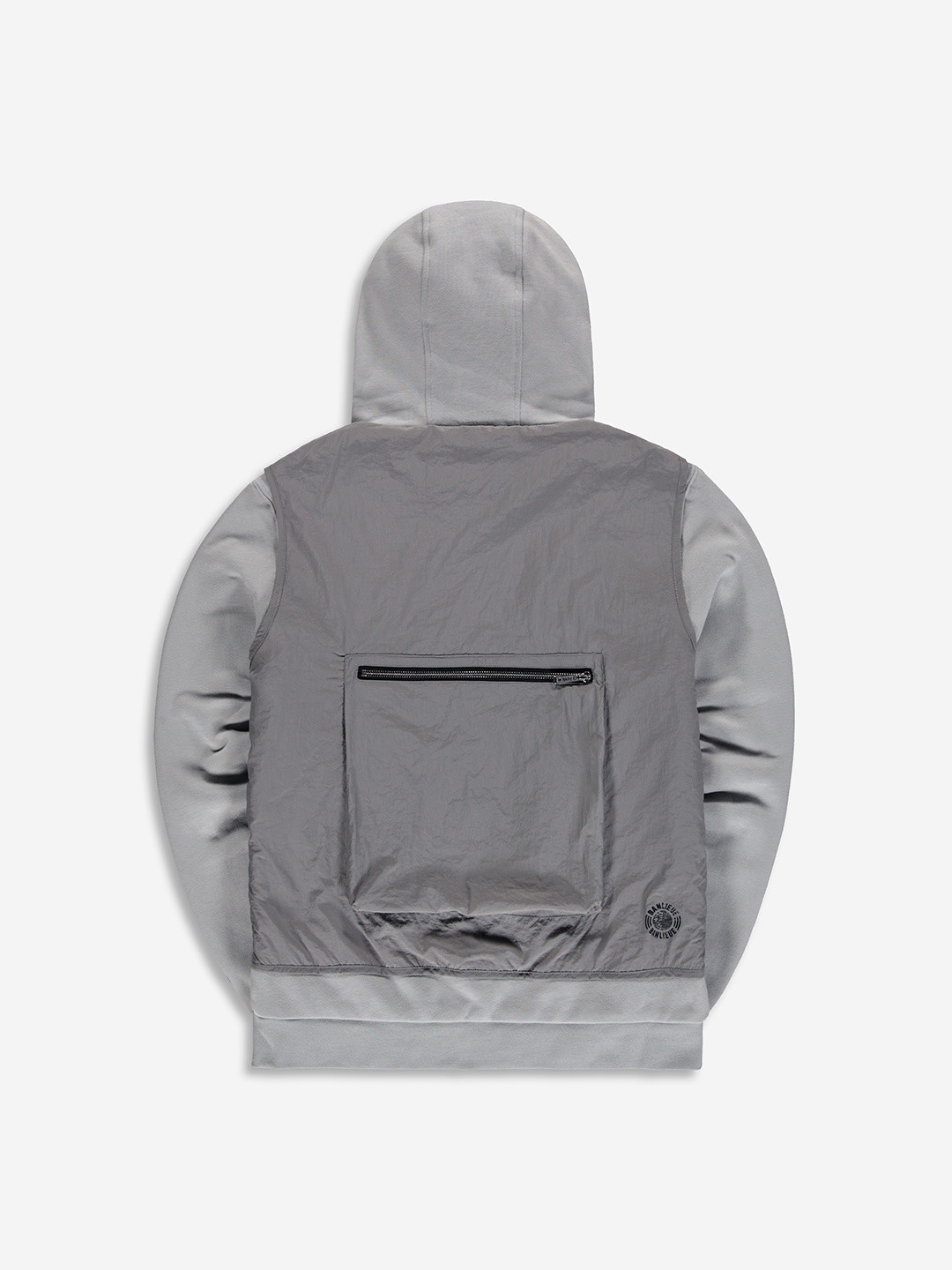 TACTICAL HOODED VEST GREY