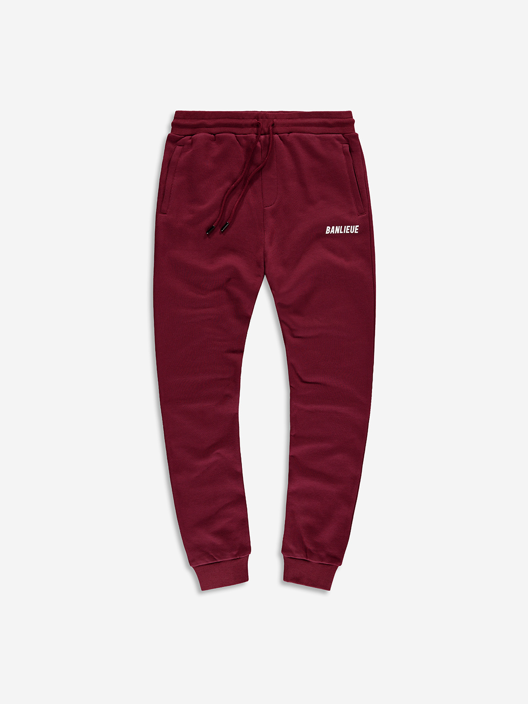 TXT SWEATPANTS BURGUNDY