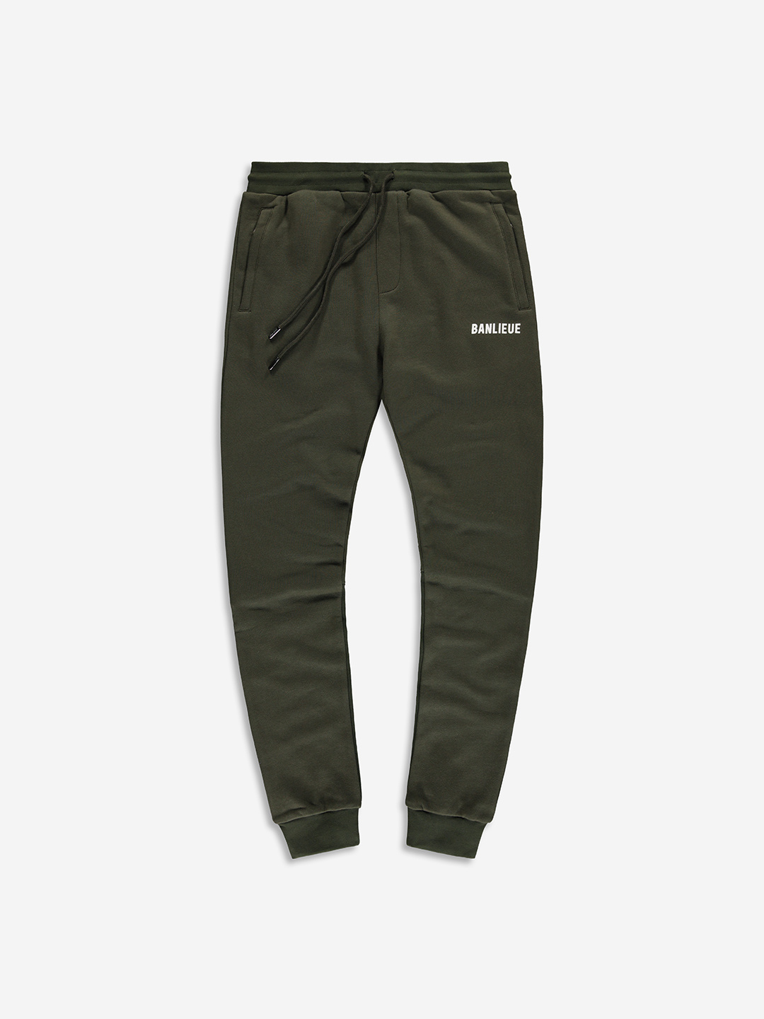 TXT SWEATPANTS OLIVE