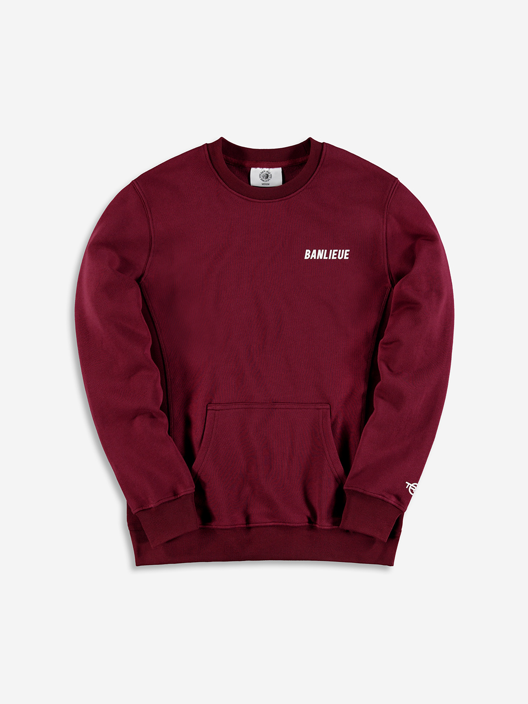 TXT SWEATER BURGUNDY