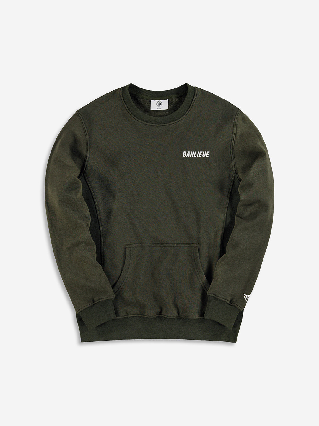 TXT SWEATER OLIVE