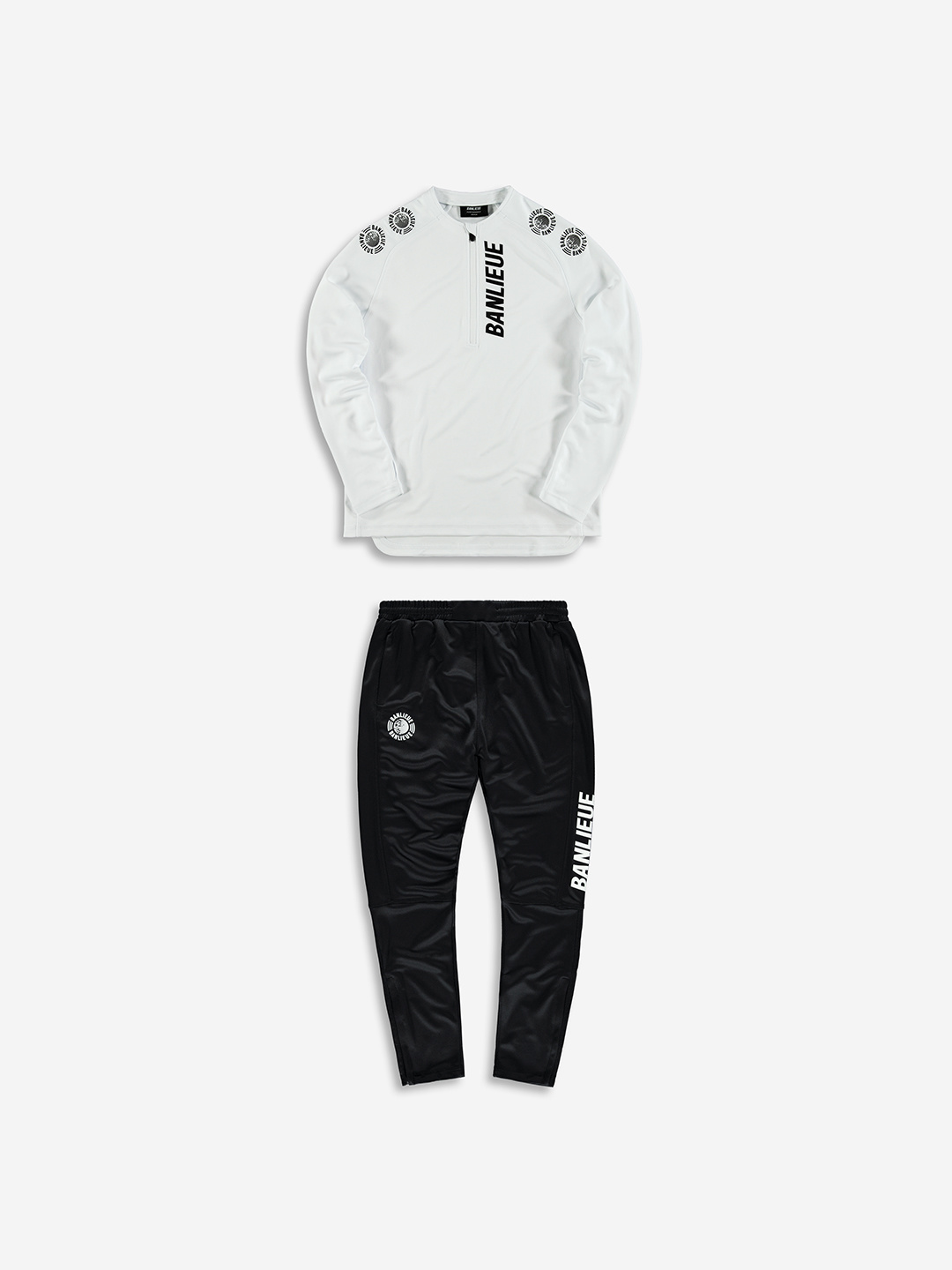 PERFORMANCE TRACKSUIT WHITE/BLACK