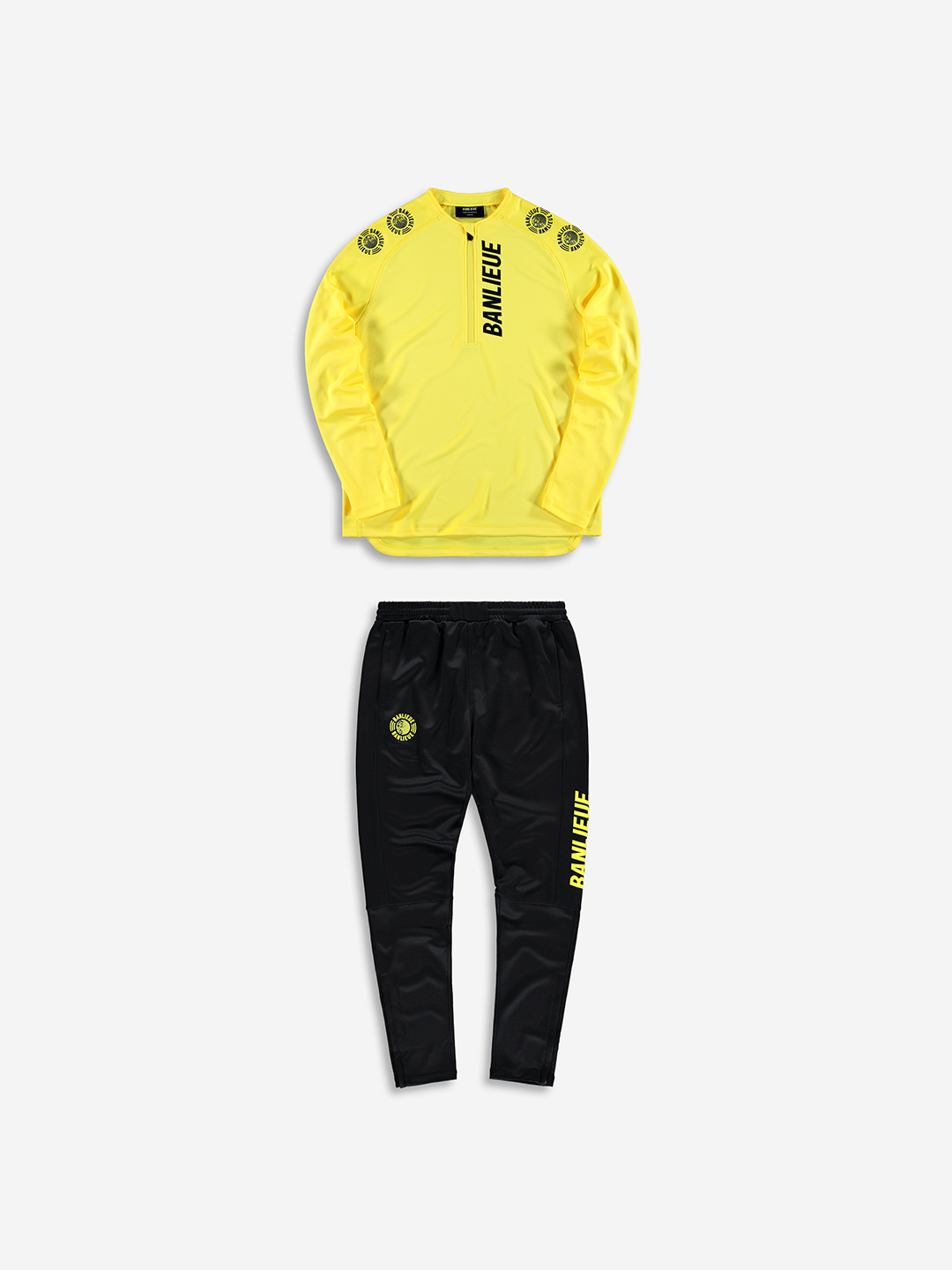 PERFORMANCE TRACKSUIT YELLOW/BLACK