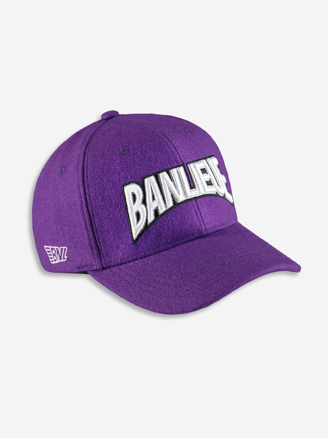 WOOL CHAMPION CAP PURPLE