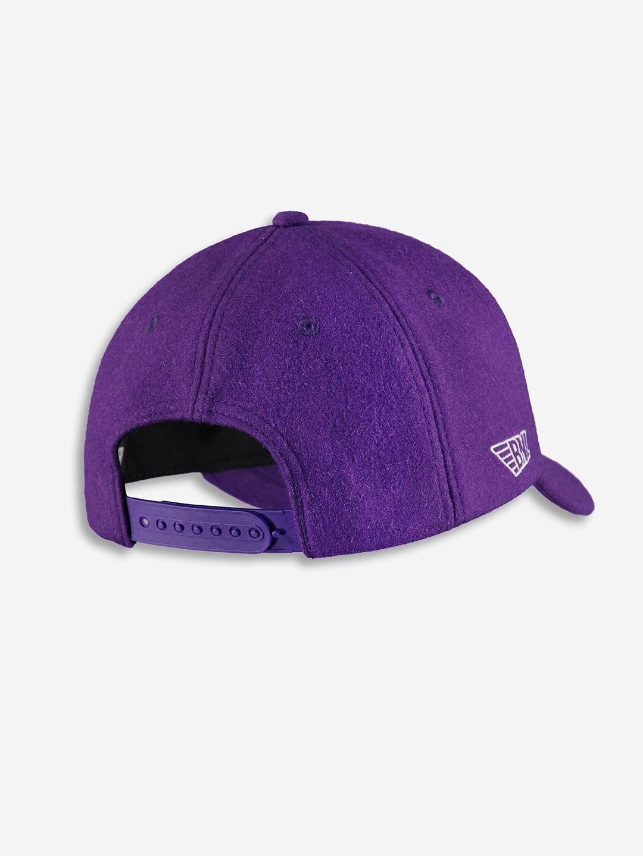 WOOL CHAMPION CAP PURPLE